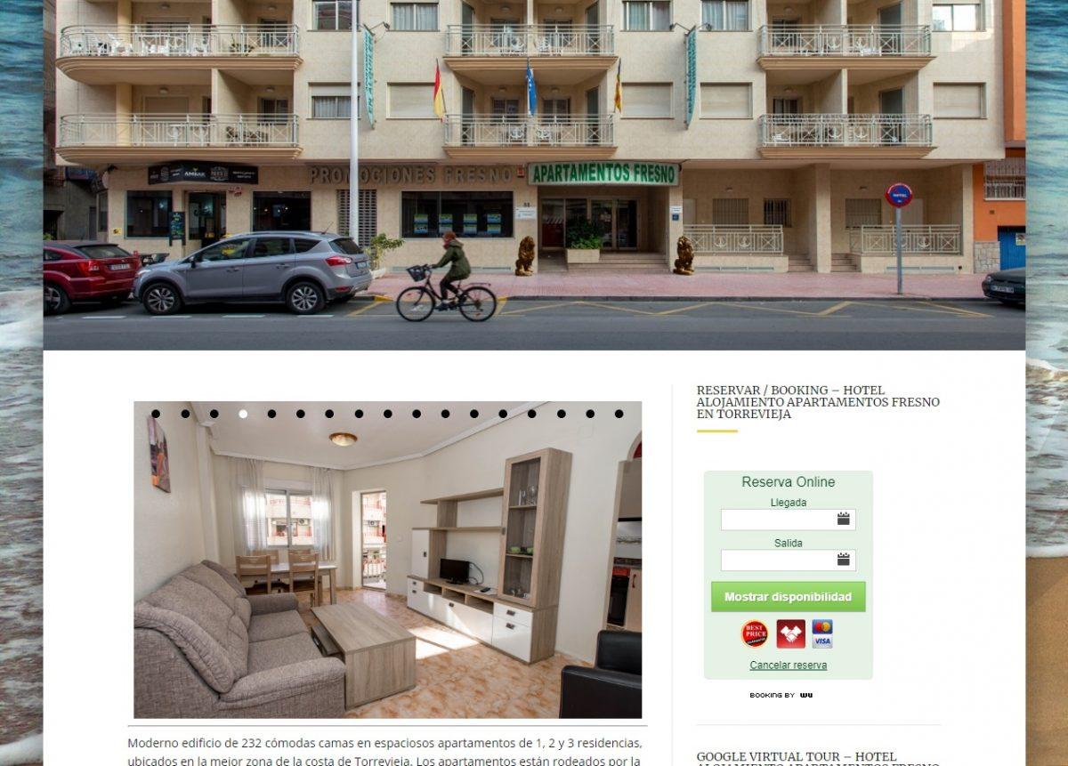 Apartamentos turísticos Fresno. Torrevieja.