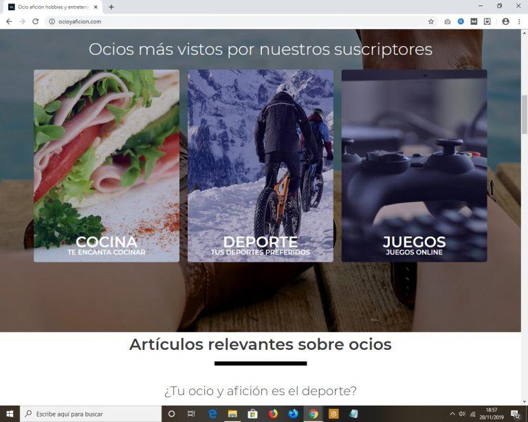 Blog de ocio aficiones y hobbies