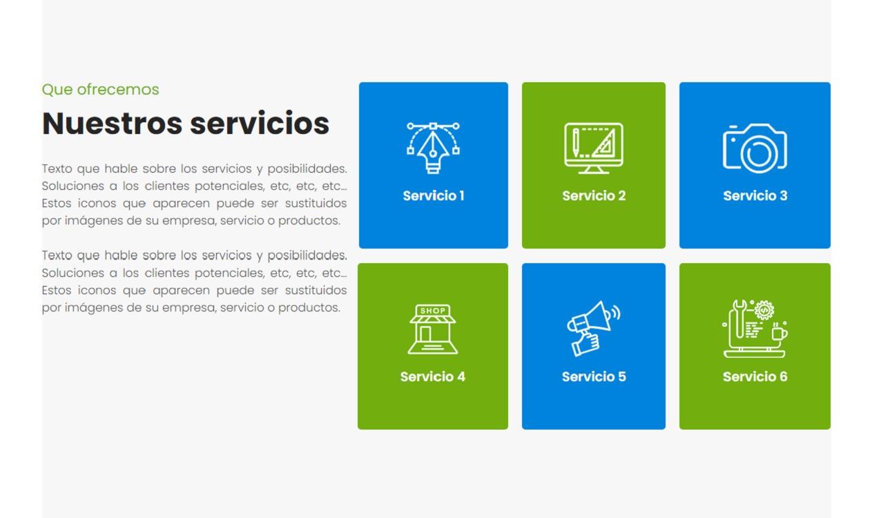 Páginas web sencillas y económicas.