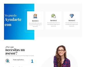 Diseño web sencillo y económico.